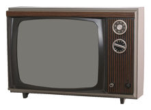 Vintage TV Stock Images