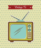 Vintage tv Stock Photos
