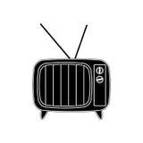 Vintage tv device Stock Image