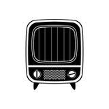 Vintage tv device Stock Photography