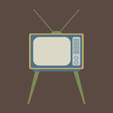 Vintage TV Royalty Free Stock Photos