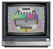 Vintage TV Royalty Free Stock Images