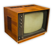 Vintage tv set Stock Image