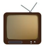 Vintage TV Set Stock Photos