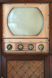 Vintage tv set. A Vintage tv set from 1949 royalty free stock images