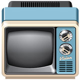 Vintage TV set icon Royalty Free Stock Photography