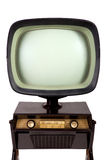 Vintage TV stand Stock Images