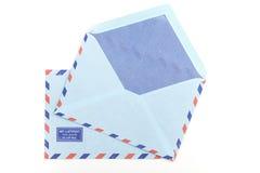 Vintage two airmail envelopes Royalty Free Stock Photo