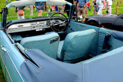 Vintage two door converible automobile. Stock Images