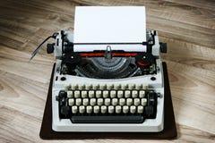 Vintage type writer. Close up view stock photos