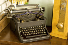 Vintage type writer Royalty Free Stock Photography