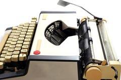 Vintage Type writer. Thai  keys Royalty Free Stock Images