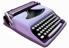 Vintage typewriter. Vintage typerwriter isolated on white royalty free stock images