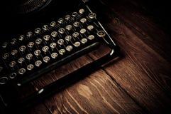 Vintage typewriter Fotografia Stock