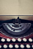 Vintage typewriter closeup Royalty Free Stock Photo