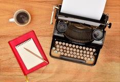 Vintage typewriter. Royalty Free Stock Photos