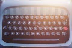 Vintage typewriter detail Stock Photos