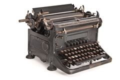 Vintage typewriter ideal naumann Stock Photos