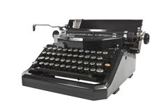Vintage Typewriter Isolated Royalty Free Stock Images