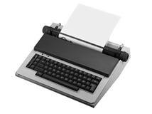 Vintage typewriter isolated Stock Image