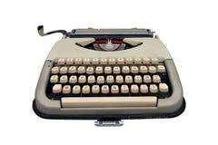 Vintage typewriter isolated Royalty Free Stock Photo