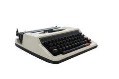 Vintage typewriter isolated Royalty Free Stock Photos