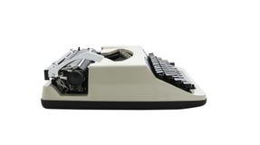 Vintage typewriter isolated Royalty Free Stock Photography