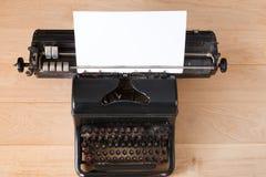 Vintage typewriter, journalism and writing concept Royalty Free Stock Image