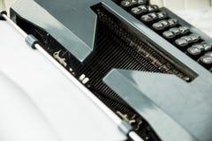 Vintage typewriter for a journalist, copywriter, writer or poet Royalty Free Stock Images