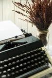 Vintage typewriter for a journalist, copywriter, writer or poet Stock Photo