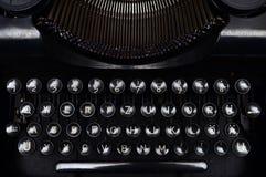 Vintage typewriter keyboard Stock Images