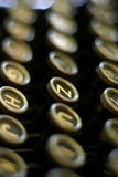 Vintage Typewriter Keys Royalty Free Stock Photography