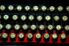 Vintage typewriter machine Royalty Free Stock Photography