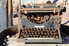 Vintage typewriter Stock Images