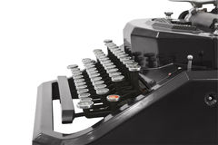 Vintage Typewriter Profile Stock Photo