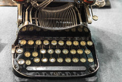 Vintage typewriter on a table - 1 Royalty Free Stock Images