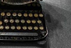Vintage typewriter on a table - 2 Stock Image