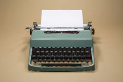 Vintage Typewriter. Vintage 20th Century Typewriter Horizontal Photo Stock Images