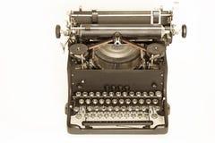 Vintage typewriter on white Stock Image