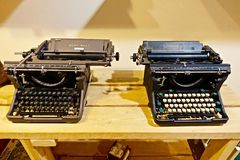 Vintage typewriters Royalty Free Stock Images