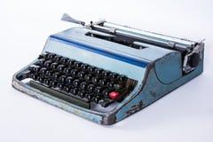 Vintage typewriting machine keys Thai font Royalty Free Stock Images