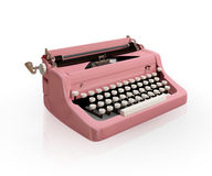 Vintage typing machine Royalty Free Stock Images