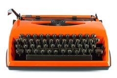 Vintage typing machine Stock Photos