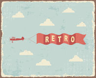 Vintage typography Background. Vector illustration Royalty Free Stock Photo