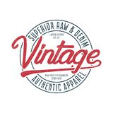 Vintage typography graphics for t-shirt. Retro original tee shirt print for New York, Brooklyn theme. Superior stamp for apparel. Royalty Free Stock Photo