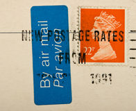 Vintage UK postage stamp Stock Image
