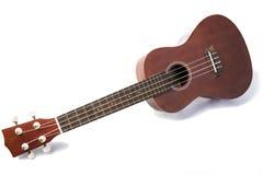 Vintage ukulele on white background Royalty Free Stock Images