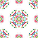 Vintage universal different seamless eastern patterns (tiling). Stock Photo