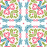 Vintage universal different seamless eastern patterns (tiling). Stock Photography