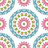Vintage universal different seamless eastern patterns (tiling). Royalty Free Stock Image